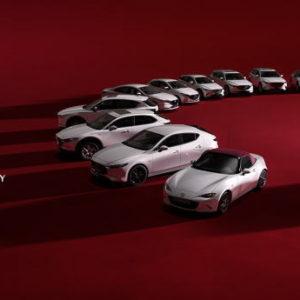 マツダ創立100周年を記念する100周年特別記念車を発売